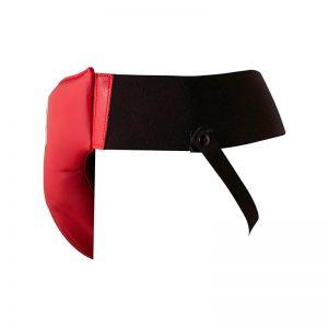 Copa protectora ligera color rojo