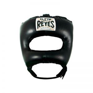 Protector de cabeza con barra de nylon V color negro