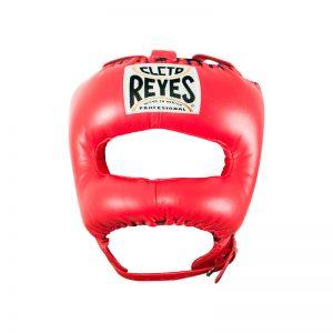 Protector de cabeza con barra de nylon V color rojo