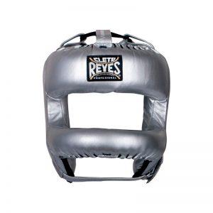 Protector de cabeza con barra de nylon en U color plata