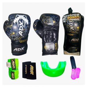 Kit de guantes para boxeo modelo veneno colección 2020