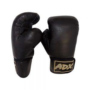 Par de guantes para boxeo color Negro