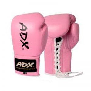 Guantes Profesionales para boxeo Rosa