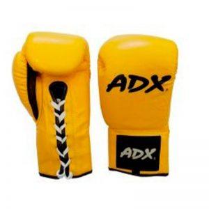 Guantes Profesionales para boxeo Amarillo