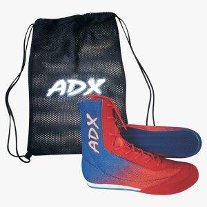 Bota Retro Box Adx Malla Piel Punta Y Ajuste Antiderrapante